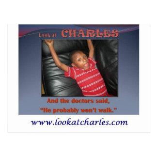 Carte Postale Regardez Charles