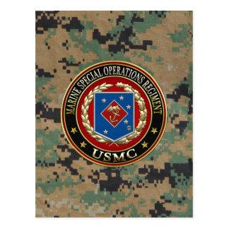 Carte Postale Régiment marin d'opérations spéciales (MSOR) [3D]