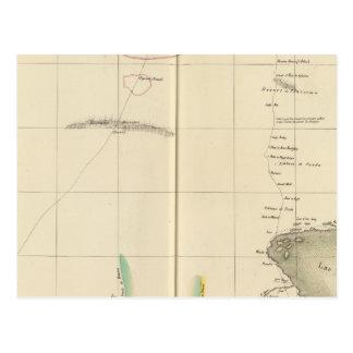 Carte Postale Région de lac chad, Afrique