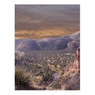 Carte Postale Région sauvage du Nouveau Mexique