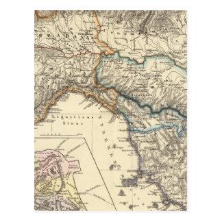 Carte Postale Regiones d'Italiae IIIIXI