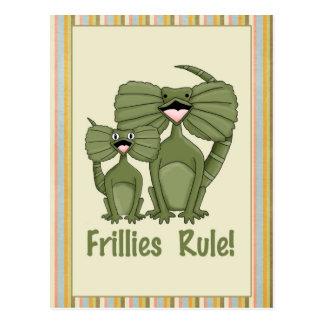 Carte Postale Règle de Frillies