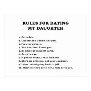 10 règles pour dater ma fille drôle