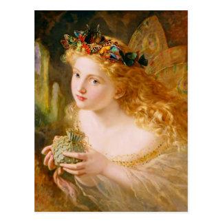 Carte Postale Reine féerique