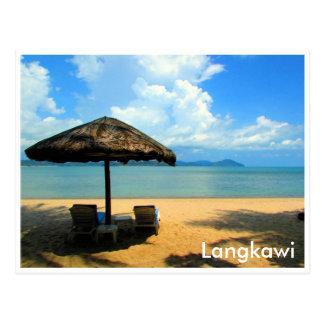 Carte Postale relaxation de langkawi