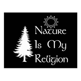 Carte Postale Religion naturelle