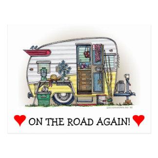 Carte Postale Remorque de campeur de Shasta rv