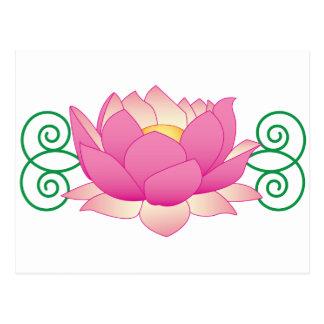 Carte Postale Remous de Lotus