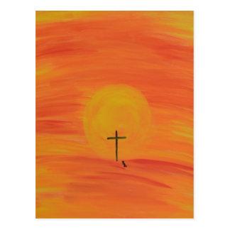 Carte Postale Rencontrez-moi à la croix