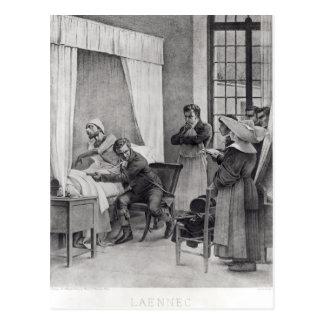 Carte Postale Rene Theophile Hyacinthe Laennec