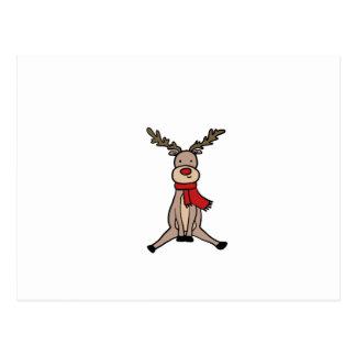 Carte Postale RENNE MIGNON, Rudolph