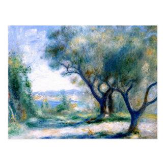 Carte Postale Renoir - vue de Mourillon