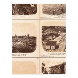 Carte Postale Repassez les clads, héros de moteur, lignes