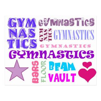 Carte Postale Répétition de gymnastique