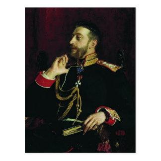 Carte Postale Repin-Portrait d'Ilya de prince grand de poète