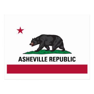 Carte Postale République d'Asheville