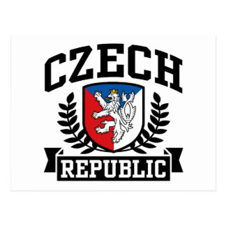 Carte Postale République Tchèque