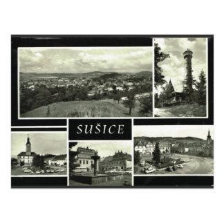Carte Postale République Tchèque de Sušice