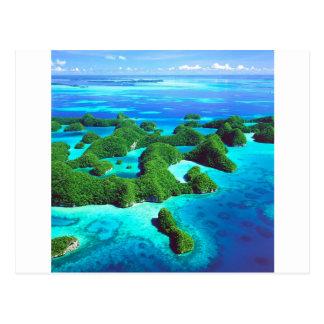 Carte Postale République tropicale Palaos d'île