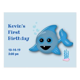 Carte Postale Requin de bébé