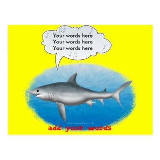 Carte Postale Requin de chant