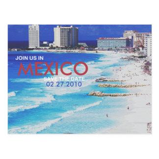 Carte Postale Réservez la date