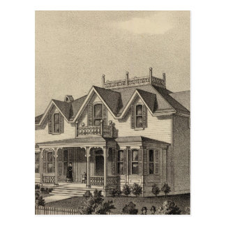 Carte Postale Résidence de Clark, Wallace, le Kansas