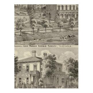 Carte Postale Résidence de juge Horace Corbin