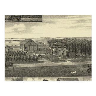 Carte Postale Résidence de Schulz, Nébraska