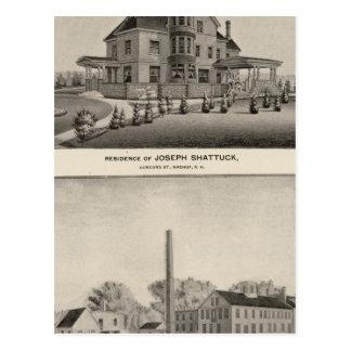 Carte Postale Résidence de Shattuck, moulins de McLane