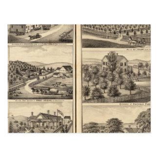 Carte Postale Résidences de Robert Andrews, berger de Dr. JS