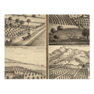 Carte Postale Résidences d'Edouard Jennings, Alfred Symonds