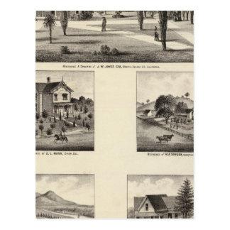 Carte Postale Résidences, monastère