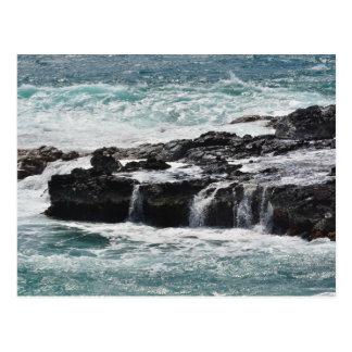 Carte Postale Ressacs dans Kauai