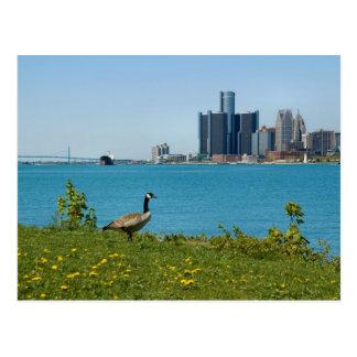 Carte Postale ressort à Detroit
