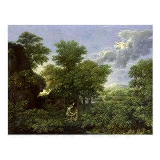 Carte Postale Ressort, ou le jardin d'Éden