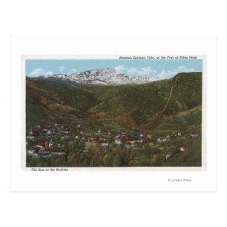 Carte Postale Ressorts de Manitou, Co - le spa des Rocheuses