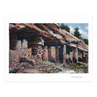Carte Postale Ressorts de Manitou, le Colorado - logements de