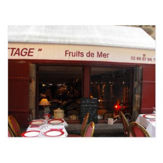 Carte Postale Restaurant France de fruits de mer de Fruits de