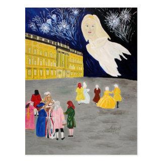 Carte Postale Retour du fantôme de serrure