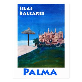 Carte Postale Rétro affiche Palma de Majorque