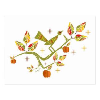 Carte Postale Rétro automne