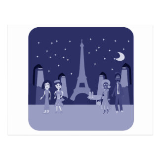 Carte Postale Rétro Paris