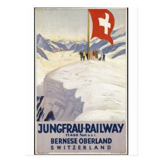 Carte Postale Rétros copies de voyage d'annonce vintage