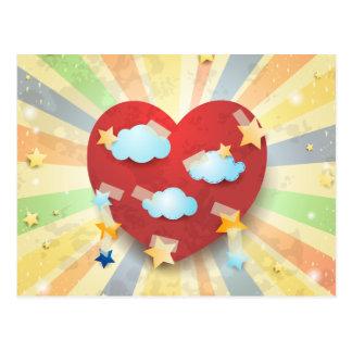 Carte Postale Rêve de l'amour