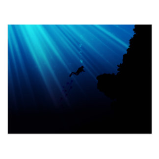Carte Postale Rêve sous-marin