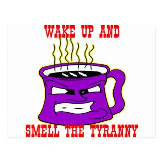 Carte Postale Réveillez et sentez la tyrannie