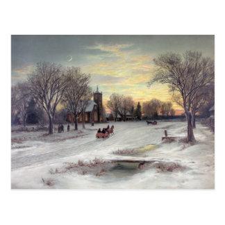 Carte Postale Réveillon de Noël