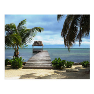 Carte Postale Rêves d'île
