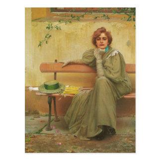 Carte Postale Rêves par Vittorio Matteo Corcos 1896